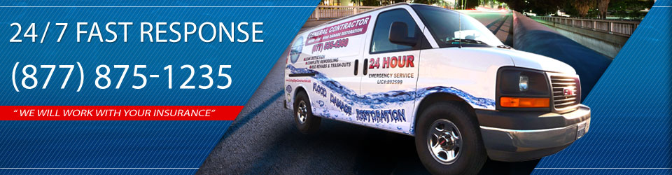 fast response water damage restoration services in Encinitas